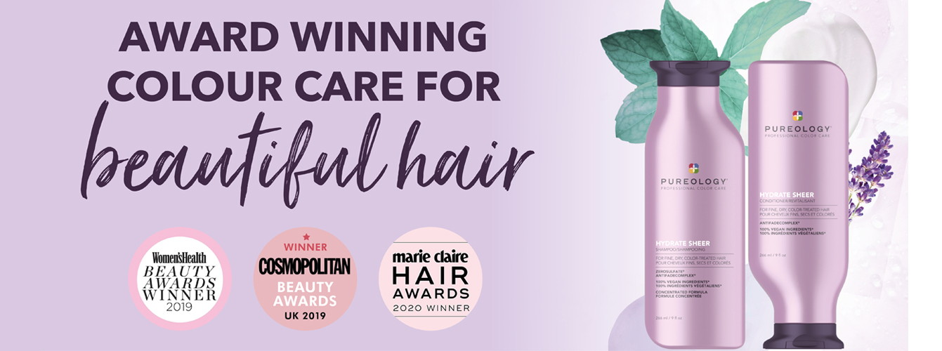 Pureology Award Winning Color care for Hair